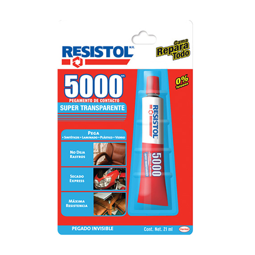 Resistol 5000 Super Transparente 21ml