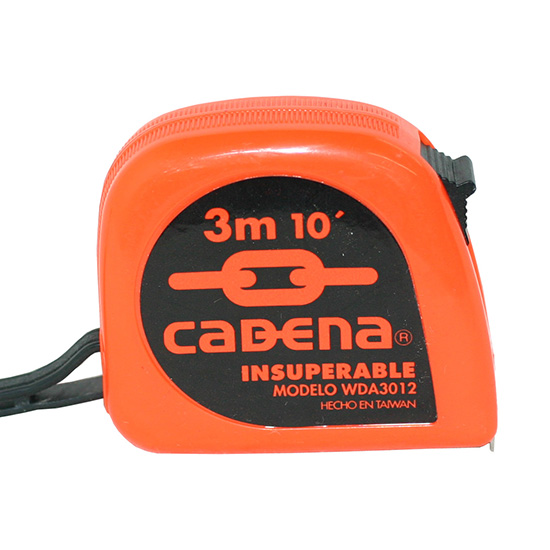 Flexometro Cadena 3Mt 13mm