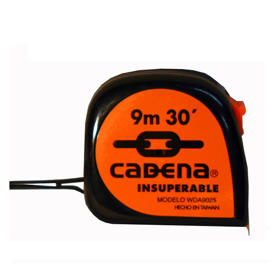 Flexometro Cadena 9Mt 25mm