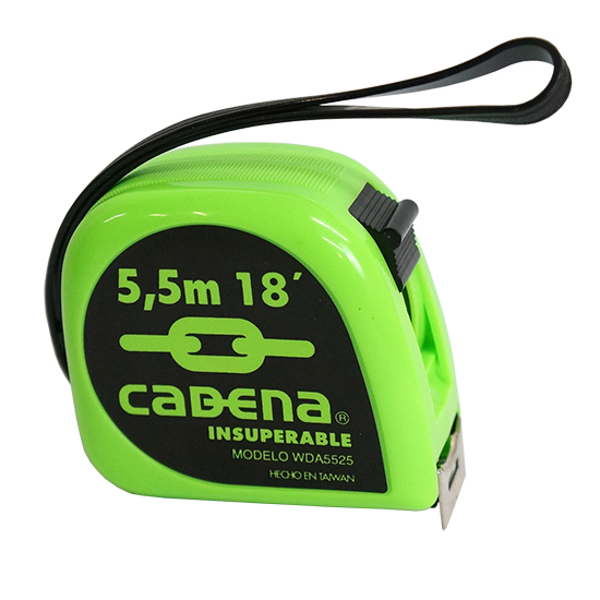 Flexometro Cadena 5.5M 25mm