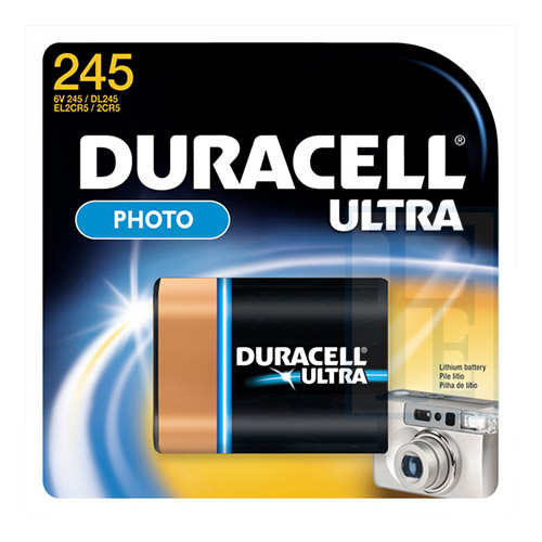 "Pila ""6V"" Duracell Litio DL245"